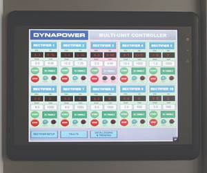Dynapower's Multiunit Rectifier Controller Consolidates Power Controls