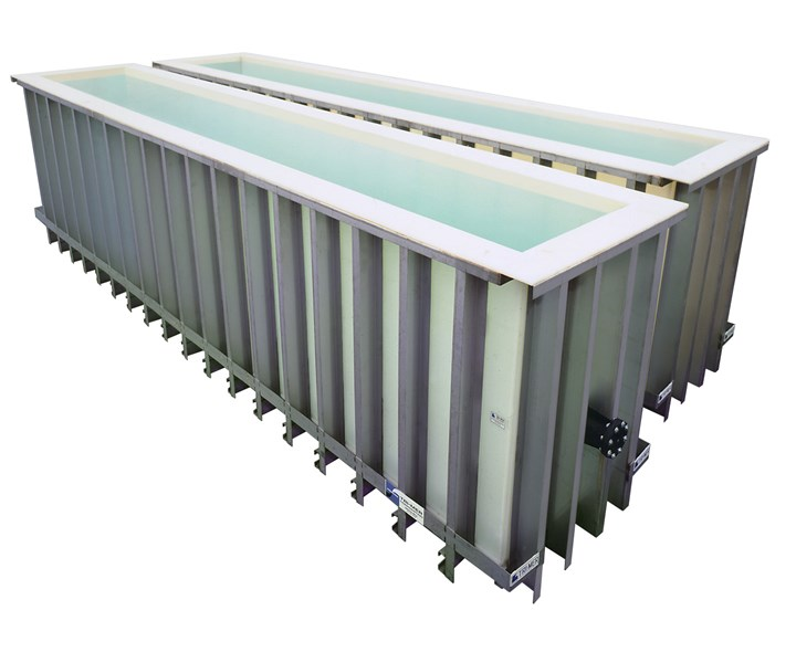 The process tanks are said to offer enhanced resistance to strong acids and alkalis, even at higher temperatures.