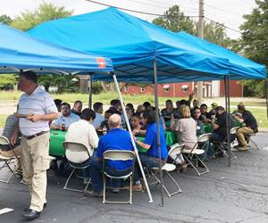 Coventya's employee appreciation day included survey results and feedback sessions.