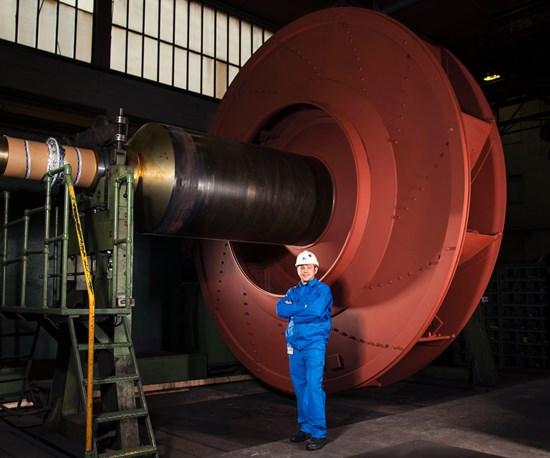 Hybrid Coatings on Centrifugal Fans in Steel Plants