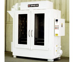 Grieve's Electric Shelf Oven Dries Medical Equipment