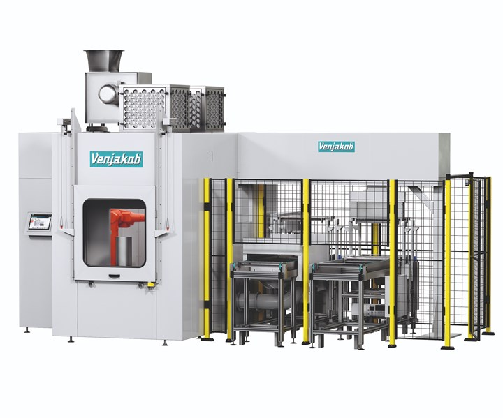Venjakob multiple purpose coating machine