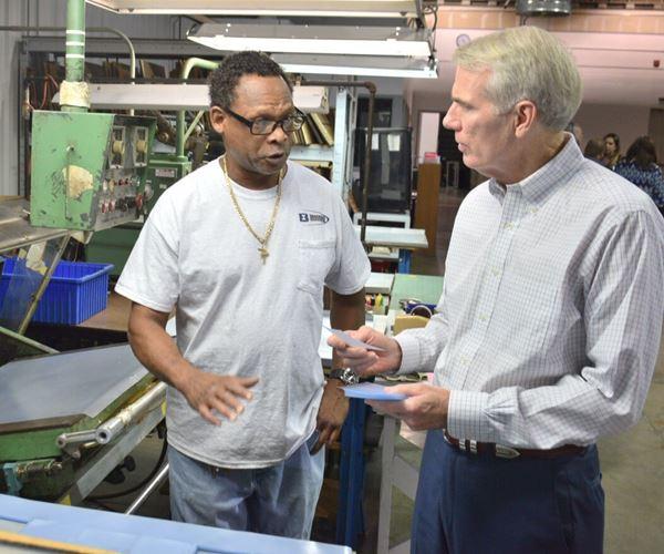 Powder Coater Hosts U.S. Senator for Workforce Discussion image