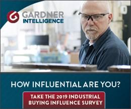 Gardner Intelligence's Industrial Buying Influence (IBI) Survey Now Open