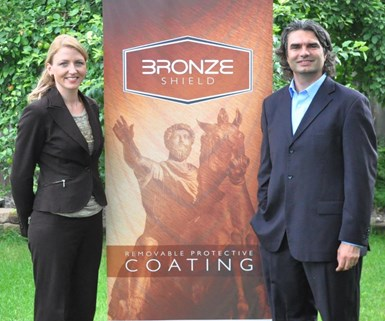 From left, Elinor CEO Holly Anderson and CTO Dante Battocchi.