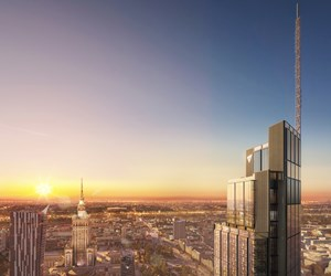 Europe's Tallest Building Gets Powder Coatings from AkzoNobel