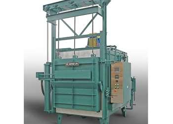 Grieve Furnace Heat Treats Turbine Components