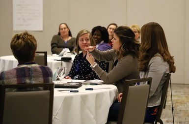Attendees have the opportunity to network, make new contacts and learn from the experiences of other women in the finishing industry.