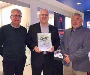 Axalta Receives Daimler Truck Masters of Quality Supplier Award