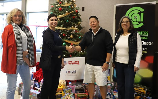CCAI Chapters Gave Back to Communities During Holidays