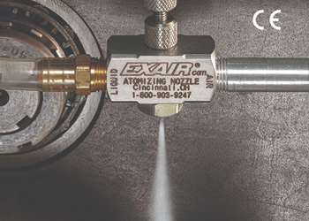 Exair's Small Atomizing Nozzles Offer Range of Spray Patterns