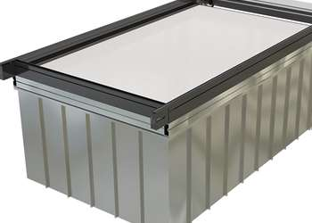 Dynatect Roll-Up ChemTank Cover Reduces Heat Loss, Evaporation