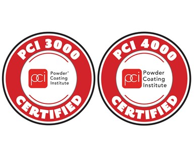 PCI Certified coaters have access to PCI Certification logos to promote their certification status.