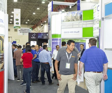 Mexican Association of Surface Finishing hosts expo March 25-26