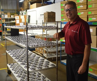 rich macary standing in his facility