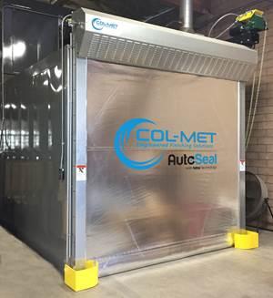 Col-Met AutoSeal Door Saves Energy