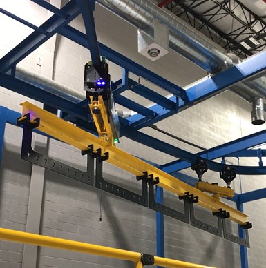 TTX's Automated Conveyor Carrier System is designed for wireless, flexible operation.