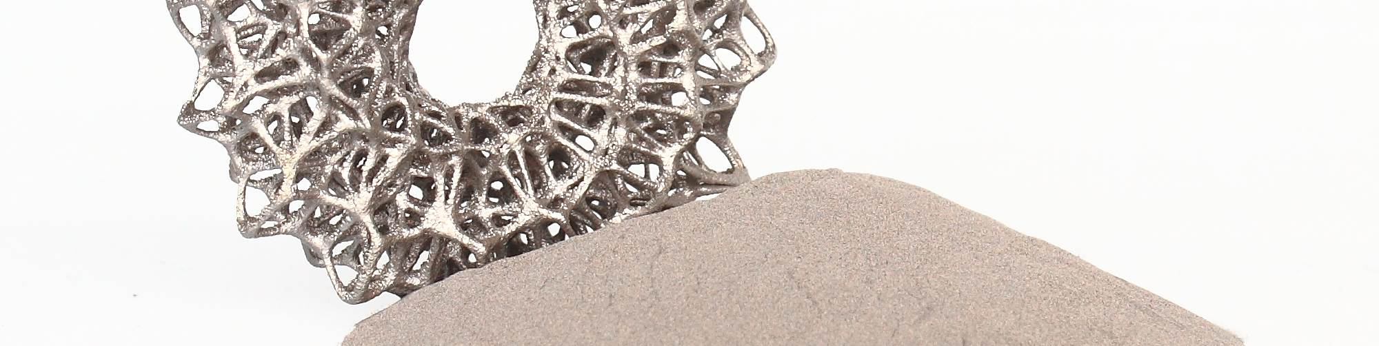 Over 80% of 3D printed parts are made using polymers.