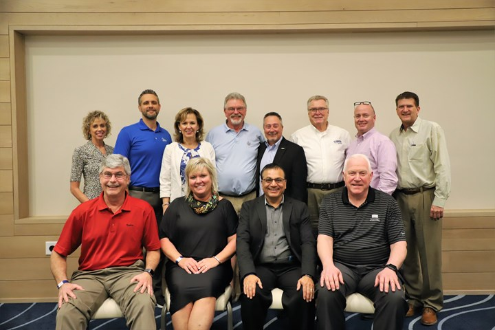 PCI''s 2020 board of directors, (front, left to right) Chris Merritt, Sue Ivancic, Suresh Patel and John Sudges. (Back, left to right) Sheila LaMothe, Rick Gehman, Shelley Verdun, John Cole, Marty Korecky, Ron Cudzilo, Tom Whalen and Paul West.