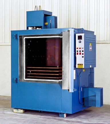 Grieve No. 887 cabinet oven for curing metal coatings.