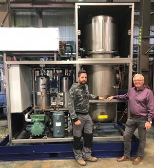 Advanced Finishing Technologies Pilots Closed-Loop Vacuum Evaporation System