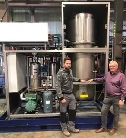 Advanced Finishing Technologies Pilots Closed-Loop Vacuum Evaporation System
