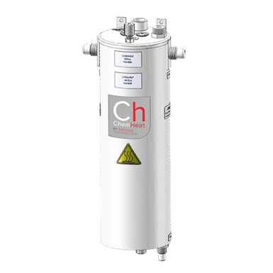 Process Technology Offers Compact Inline Heater