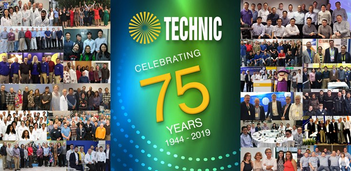 Technic recently celebrated its 75th anniversary.