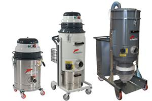 Delfin Industrial Vacuums Can Increase Process Efficiency