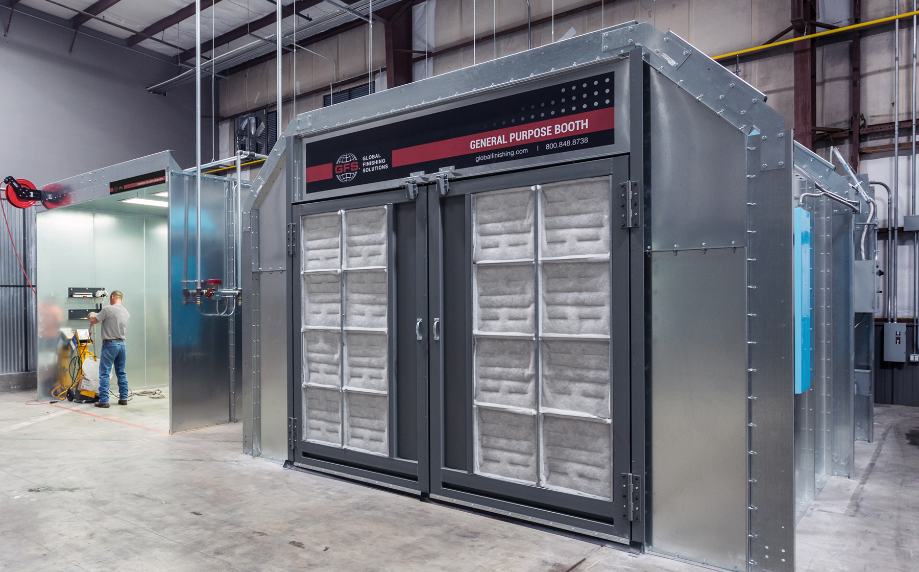 GFS Booths Engineered for Precision Finishes
