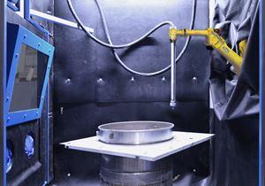 IST Robotic Sandblasting Accommodates Variety of Parts