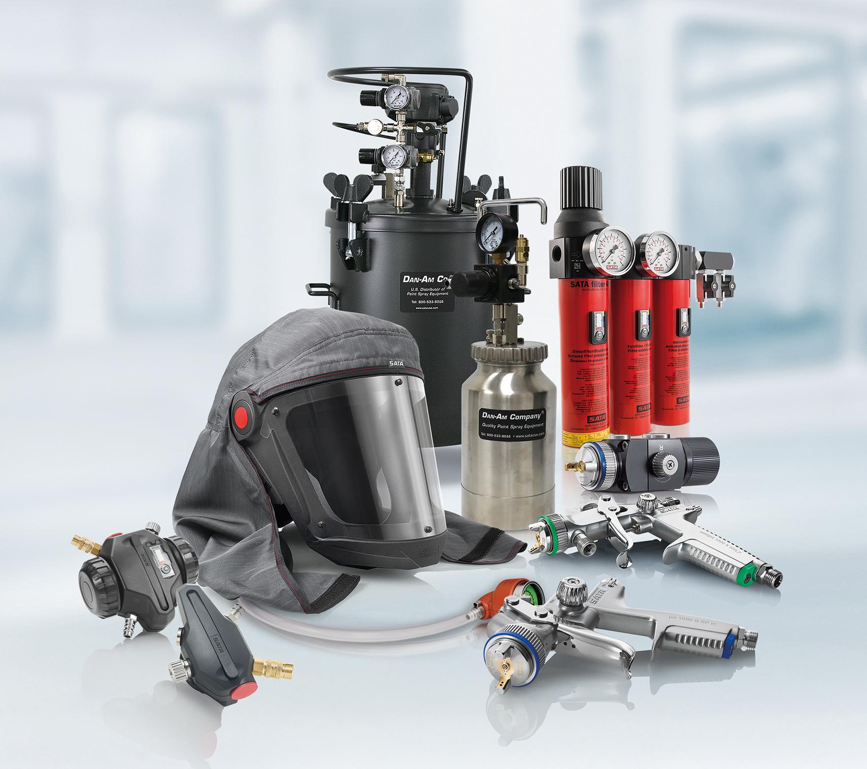 Spray Equipment Engineered for Durability