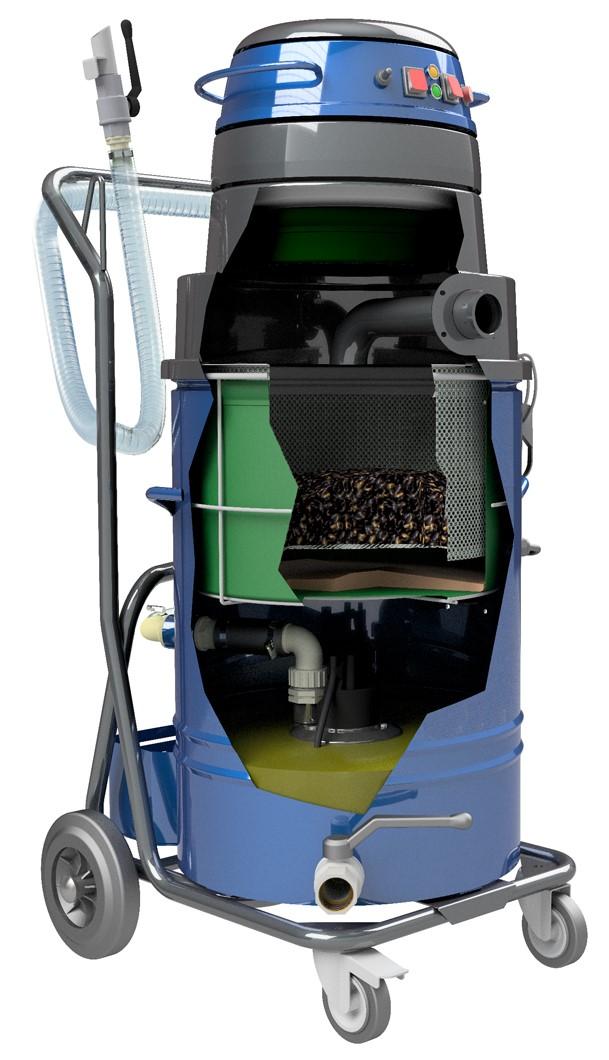 Tiger-Vac Hogoil Pump Vacuums Feature Compact Size