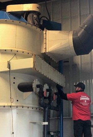 Crossair Response Team Fixes Air Pollution Control Systems in Emergencies