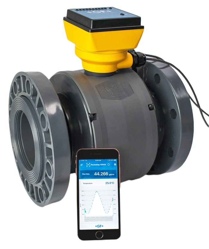 GF Piping Systems' Offer Magnetic Flow Meter Accuracy