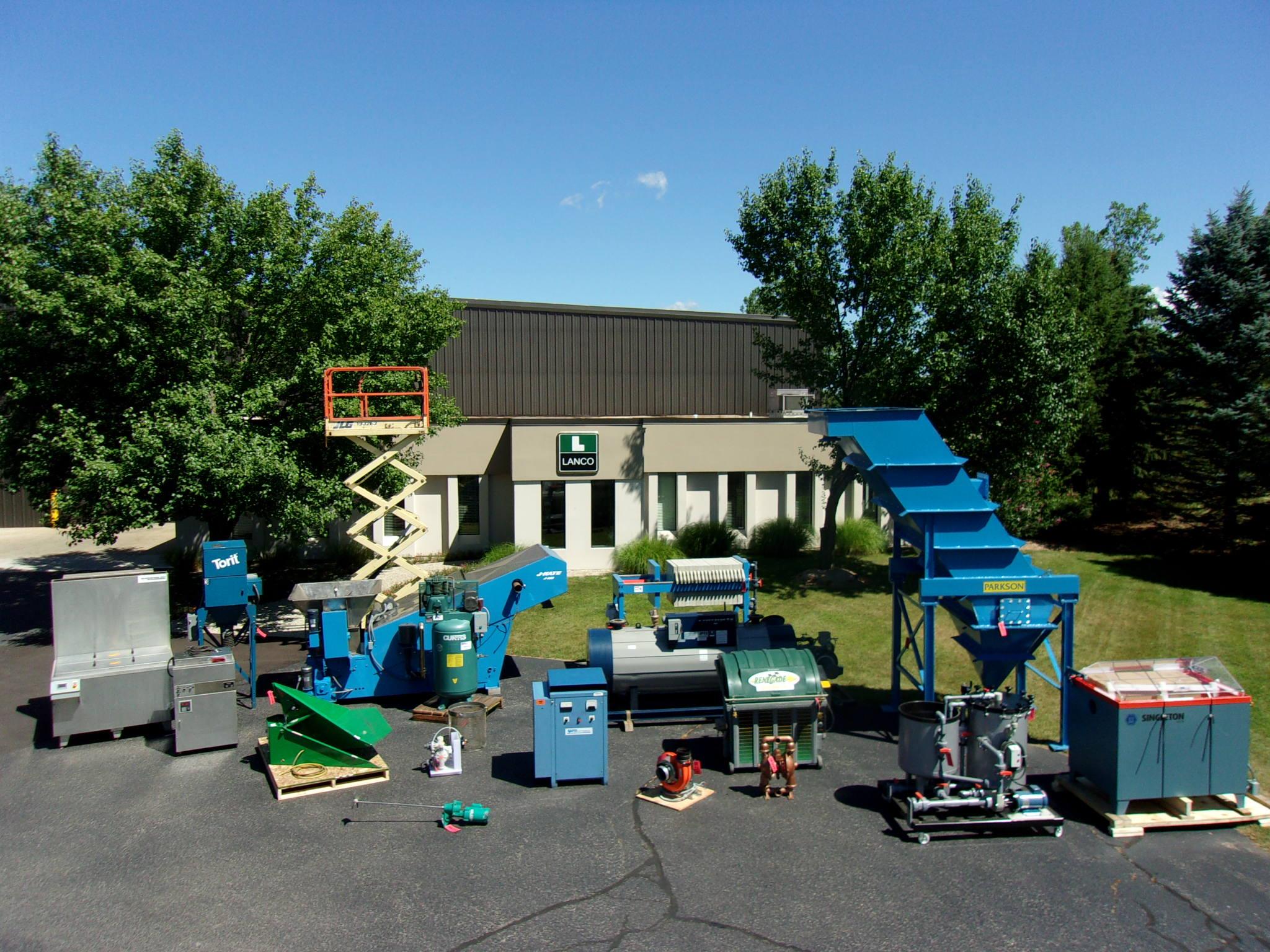 Lanco Supplies and Buys Used Metal Finishing Equipment