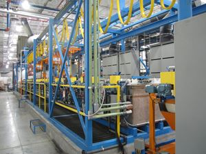 Universal Manufactures Automated Finishing Equipment