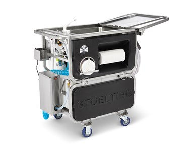 Self-contained cleaning system from Vollrath