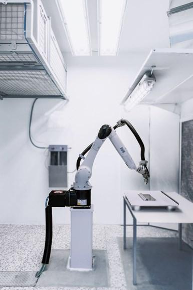 liquid coating, surface finishing, automated paint spray robot