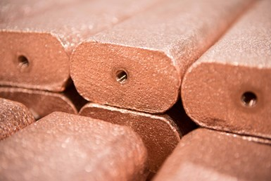 copper anodes, metal finishing, electroplating