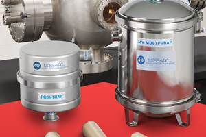 Mass-Vac Vacuum Pump Inlet Traps Block Deposition Byproducts