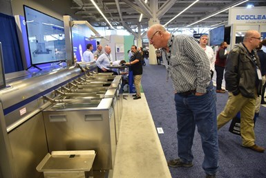 PMTS offers parts cleaning equipment exhibitors a dedicated section on the show floor to display their latest technologies and processes.
