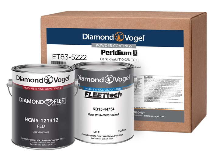 Diamond Vogel Industrial Liquid and Powder Coatings Solutions