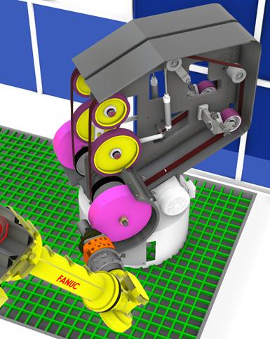 automation, mass finishing