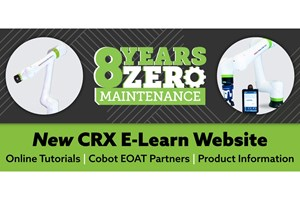 FANUC Launches E-Learning Website For Its CRX Cobot