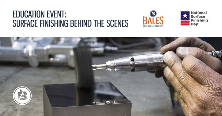 Bales Surface Solutions Celebrates National Surface Finishing Day