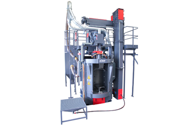 German Surface Company Creates a Smart Shot Blasting Solution for Integrated Manufacturing Lines