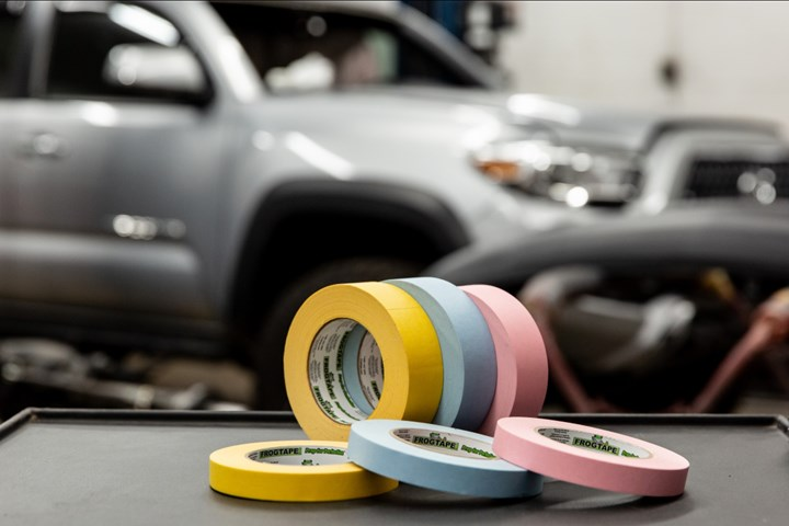 FrogTape Performance Masking Tapes for Industrial Painting, Coating Applications