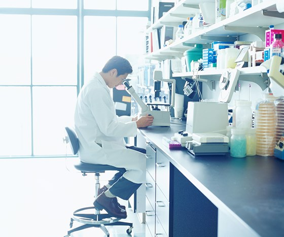 Stock photo science lab