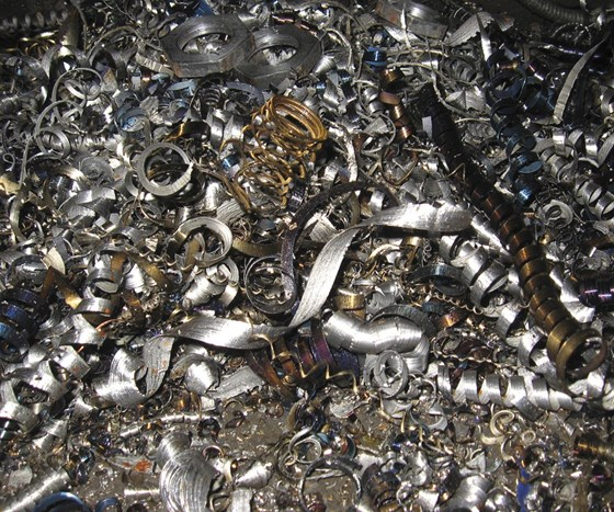 metal chips